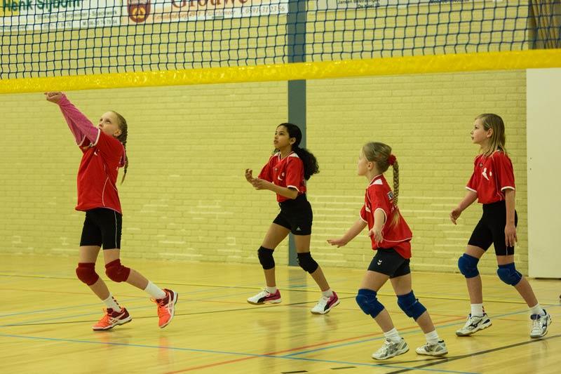 Tjoba,_mini cmv toernooi, volleybal